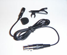 UL01 Lapel microphone suits AKG 3pin TA3F wireless microphone systems