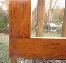 c1900 Outstanding WIDE ROYCROFT? SOLID TIGER OAK Mission Arts Crafts Antique Frm