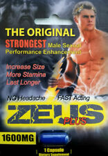 Zeus Male Sexual Enhancer Supplement 6 Pcs