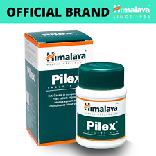 HIMALAYA HERBALS Pilex | All Natural Piles Hemorrhoids Support | 100 Count