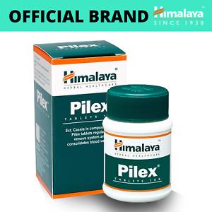 HIMALAYA HERBALS Pilex | All Natural Piles Hemorrhoids Support | 100 Count