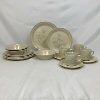 20 PIECE SET CORELLE SPRING POND DINNERWARE DINNER SALAD PLATE CUP BOWL SAUCER