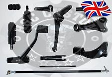 Harley Davidson Sportster Forward Controls Xl Iron 883 1200 2004-2013 Black