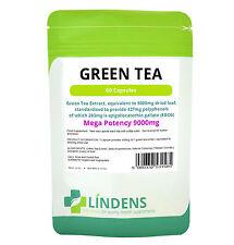 POWERFUL GREEN TEA 9000mg **60 Capsules* 203mg EGCG - Vegetarians - Weight loss