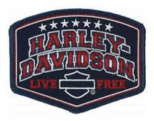 Harley-Davidson Embroidered Harley Pride Emblem Patch, SM 4 x 3.0625 in EM299842