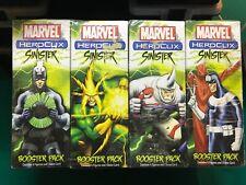 Marvel Heroclix Sinister Booster Pack Lot 12