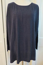 Joie Zephyrine Oversized Blue Pullover Cashmere Blend –NWT – Large - $268