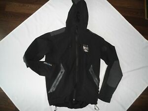 MANCHESTER CITY FOOTBALL HOODED LINED JACKET SHIRT SIZE LARGE
