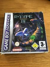 Gameboy Advance R-Type III Boxed With Manual Free U.K. Post
