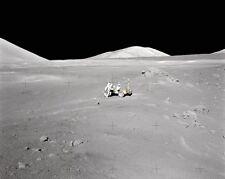 Apollo 17 Mond Rover At Entfernung 8x10 Silber Halogen Fotodruck