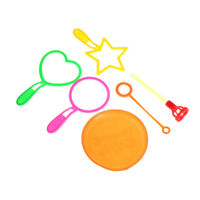 6pcs Blowing Bubble Soap Tools Bubble Sticks Set Outdoor Toy Kids Toy NhATAFB