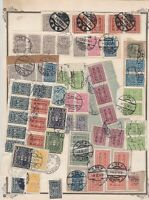 austria early stamps  on album page ref r11462
