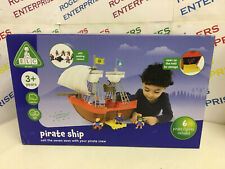 ELC Early Learning Centre Pirate Ship w. 6 Figures NEW Box Scuffed
