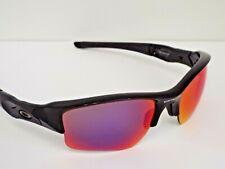 Authentic Oakley 26-241 Flak Jacket XLJ Polished Black OO Red P Sunglasses $195
