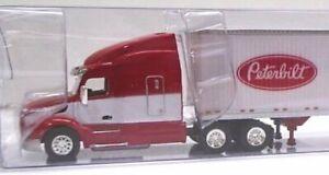 PETERBILT 579 Truck PETERBILT Dry Van 53' Trailer 1/87 Scale TrucksNStuff 400636