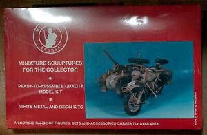 GERMAN MOTORCYCLE BMW R75 - 90mm Andrea Miniatures Original Kit (code: S8-A17)