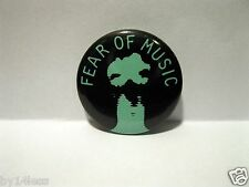 Talking Heads Fear of Music Promo Button Pin Dated 1979