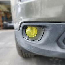 Fits 2014 - 2018 Jeep Cherokee Fog Light - Yellow Tint Overlay Film 15 16 17