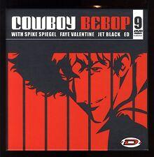 COWBOY BEBOP  COFFRET COLLECTOR  9 DVDS  Parfait état.