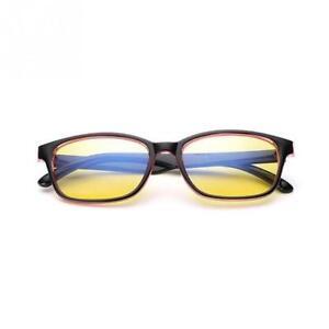 Gaming Glasses New Anti Fatigue Glare Yellow Lens PC Gamers Blue Light Block HD
