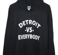 """""""Detroit vs Everybody' SHADY  Eminem Rapper, pullover 50/50  BLACK HOODY"""