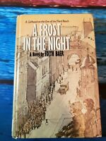 A Frost in the Night Hardcover Book Edith Baer 1980 Super Rare Vintage Low Print