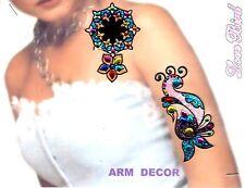 Body Hair braccio mano sticker Gioielli Bollywood Indo Bridal Wedding Henna