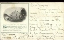 Somerville MA General Charles Lee HQs c1905 Postcard