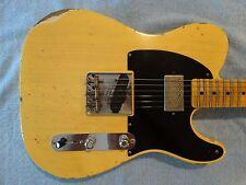 "Fender Custom Shop NAMM Limited ""52"" Telecaster HS Heavy Relic in Natural Blonde"