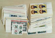 A group of 500 5 cent & 6 cent Plate blocks of  4  MNH OG nice mixed