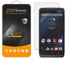 3X Supershieldz Motorola Droid Turbo Tempered Glass Screen Protector Saver