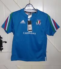 ITALY ADIDAS CHILDS 9/10 YEARS Rugby Union Shirt BNWT CHEST 34