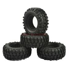 4Pcs 1.9 Inch Rock Cralwer Tires 96mm Tyre For RC 1/10 Tamiya CC01 SCX10 D90 TF2
