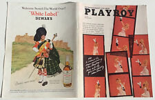 COUVERTURE SEULE / COVER ONLY # PLAYBOY US # 04/1966 #