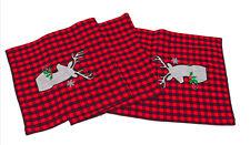 Kay Dee Designs Camp Christmas Deer Table Runner 13x72 inches