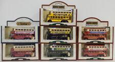 Bus: Set di 7 1928 karrier E6 FILOBUS Lledo modelli (DT) 121