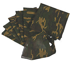 Camouflage Party Army Style Camo Bandanna Bandana Pack of 4 Free Postage