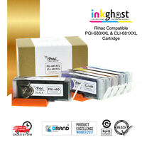Rihac Premium Ink Cartridges PGI-680XXL CLI-681XXL for Canon TS-9160 8160 9560