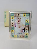 Gorham Peek-A-Boo Silver Plated Baby Photo Unisex Album