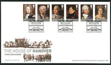 2011 The Hanoverians - FDC - East Cowes (Square Border) Pmk