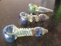 Handmade outside Colour Changing Non Breakable Glass Pipes for tobacco Smoking