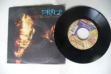 "PRINCE ""IF I WAS YOUR GIRLFRIEND"" disco 45 giri PAISLEY Italy 1987"