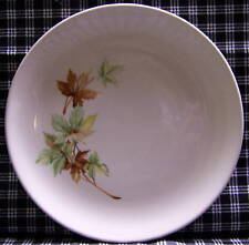 Salem Maple Leaf Salad (3) & Bread & Butter (1) Plates Vintage