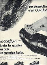 PUBLICITE  1968    CORFAM  cirage pour chaussures