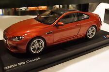 BMW M6 Coupe 2013 rot metallic  Paragon/BMW 1:18 neu & OVP