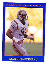 RARE 1990 JOGO CFL MARK GASTINEAU CFL RC CARD NFL LEGEND