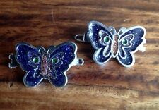 Butterfly Clip Mixed Metals Costume Hair & Head Jewellery