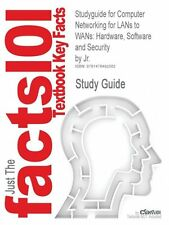 NEW Studyguide for Computer Networking for LANs to WANs: Hardware, Software and