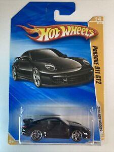 HOT WHEELS 2010 #014 New Models Porsche 911 GT2 Nice Black
