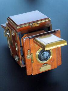 "APPAREIL PHOTO ENSIGN SPECIAL REFLEX TROPICAL circa 1930 format  3 1/4 x 4 1/4"""